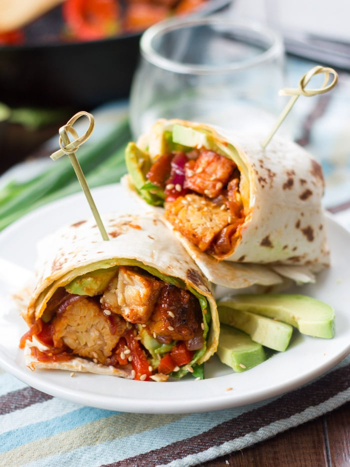 Korean Barbecue wraps