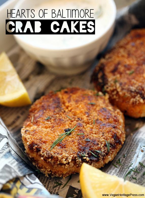 Vegan Hearts of Baltimore Crab Cakes
