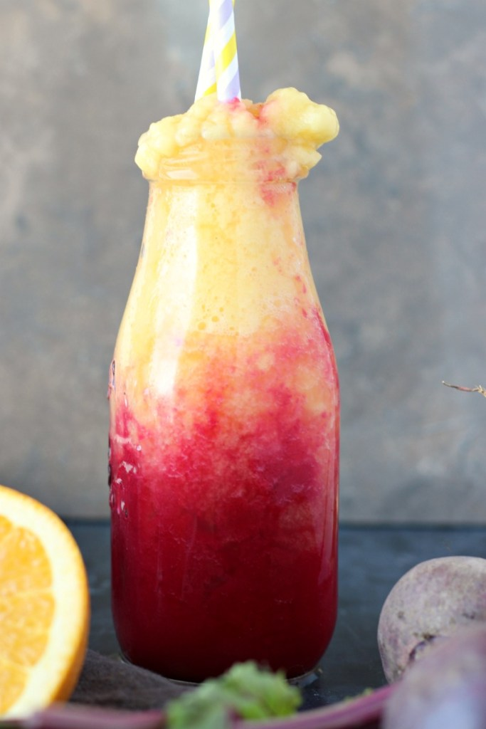 Orange Sunrise Morning Smoothie