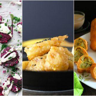 vegan fritter recipes
