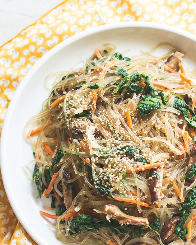 http://www.mjandhungryman.com/vegetarian-japchae-korean-stir-fried-sweet-potato-noodles/