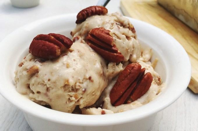 vegan butter pecan ice cream recipe