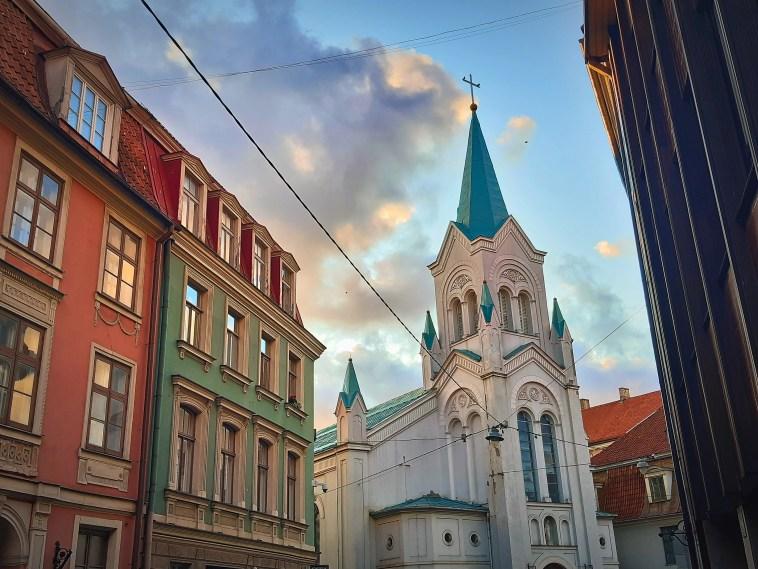 Our Lady of Sorrows Church Riga
