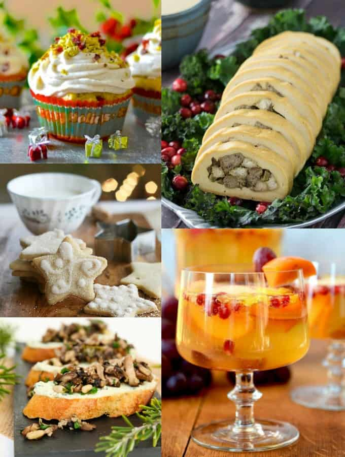 5+ Vegan Appetizers for Christmas