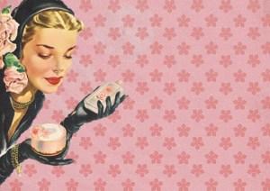 Vintage Cosmetics Illustration