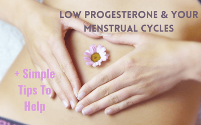 Low Progesterone and Your Menstrual Cycle