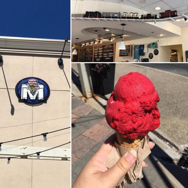 Treat yourself! Head to mitchellsicecream and escape the heat! Linkhellip