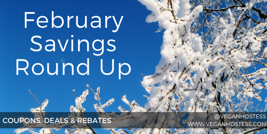February Savings Round Up