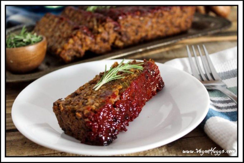 Mushroom-Walnut Meatless Loaf