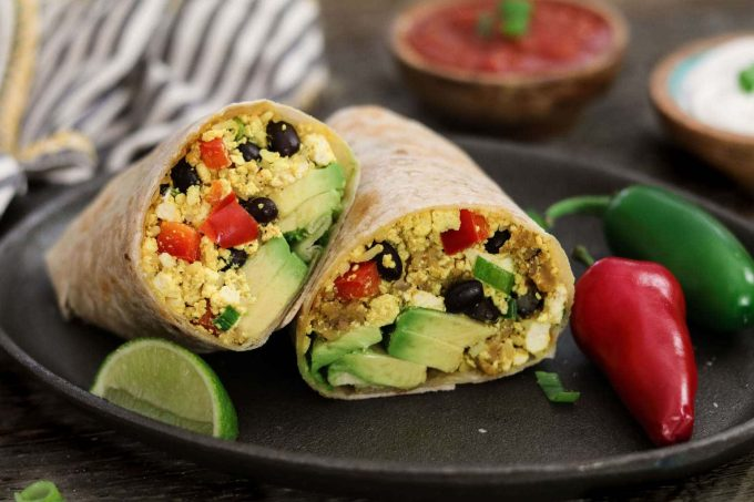 Do your morning meals need a makeover? This Vegan Breakfast Burrito from The Blossom Cookbook will help start your day off right. It's hearty, savory, protein-packed and oh-so delicious!