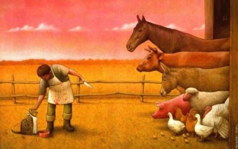 Festmény a faji megkülönböztetésről