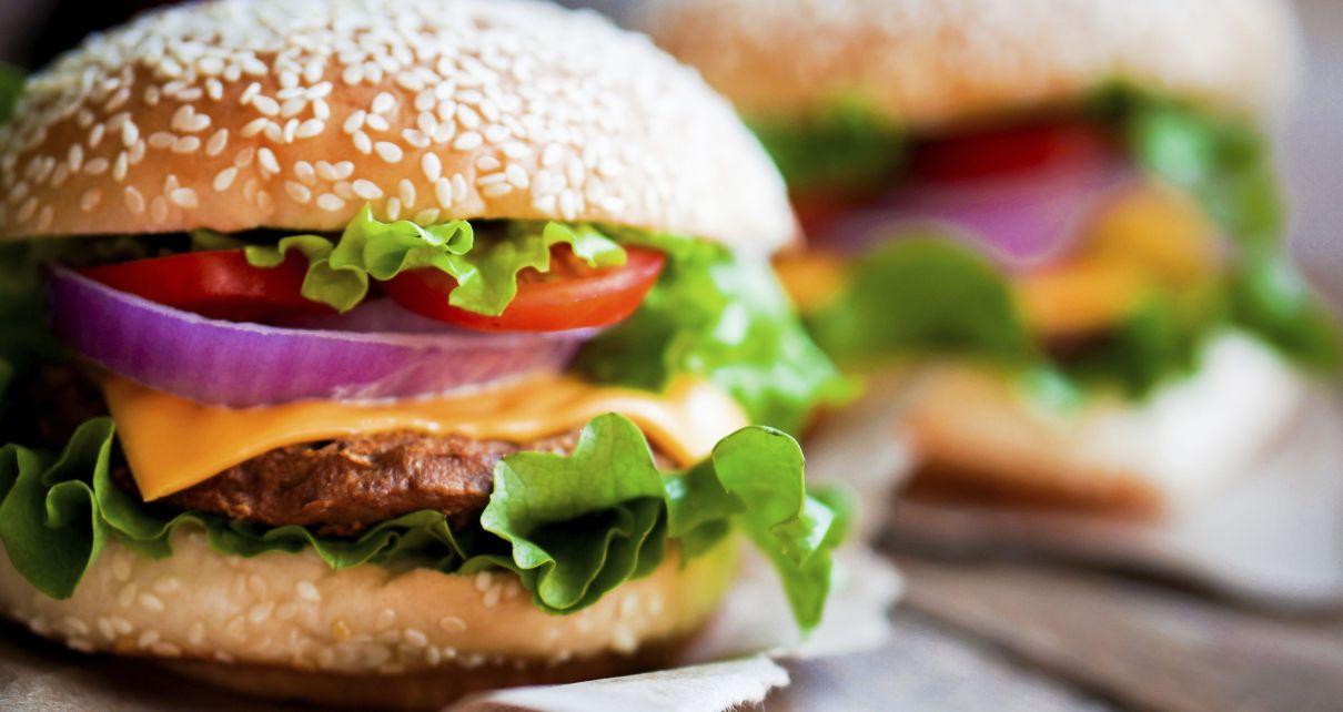 vegán burger