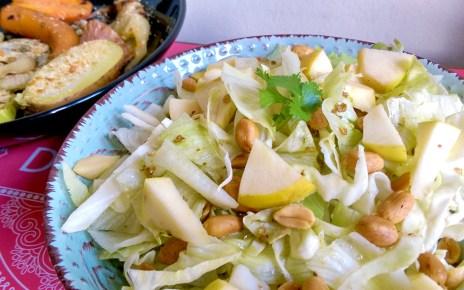 Egyszerű saláta nem hétköznapi fűszerezéssel