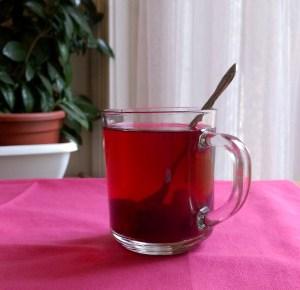 szeder ízű Frupka sült tea