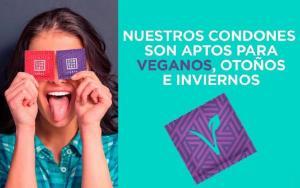 sexo vegano condones