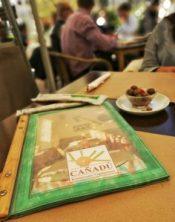 carta restaurante vegetariano en malaga cañadu