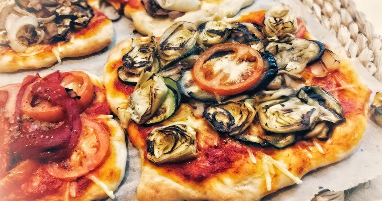Pizza vegana casera – ¡Masa incluida!