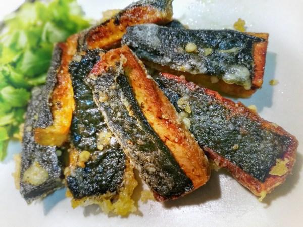 """Pescado vegano de tofu o """"Norluza"""" - Tofish & chips"""