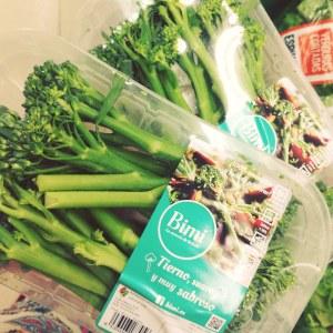 Bimi o brocolini en Mercadona