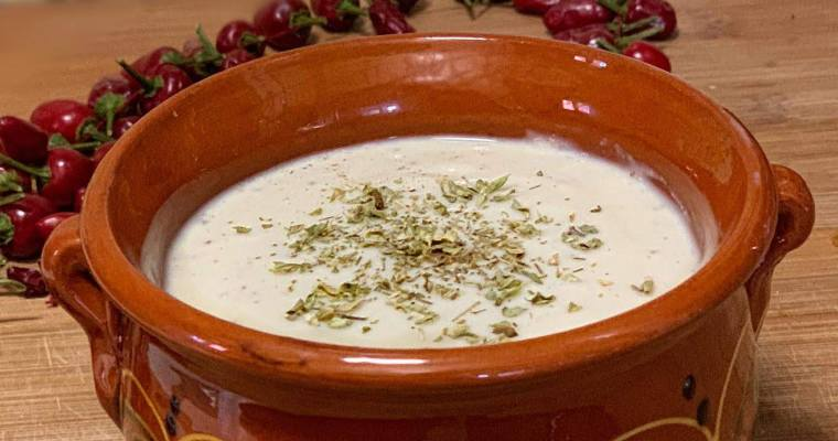 Receta de Crema de Coliflor Vegana Fácil con leche de soja