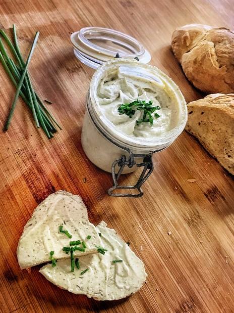 queso crema vegano de untar