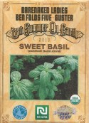 Organic Sweet Basil seeds from The Last Summer On Earth Tour 2013 with Guster, Ben Folds Five and Barenaked Ladies