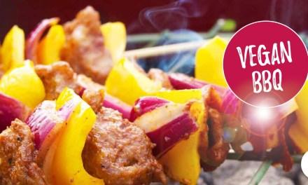Vegan barbecue inspiratie