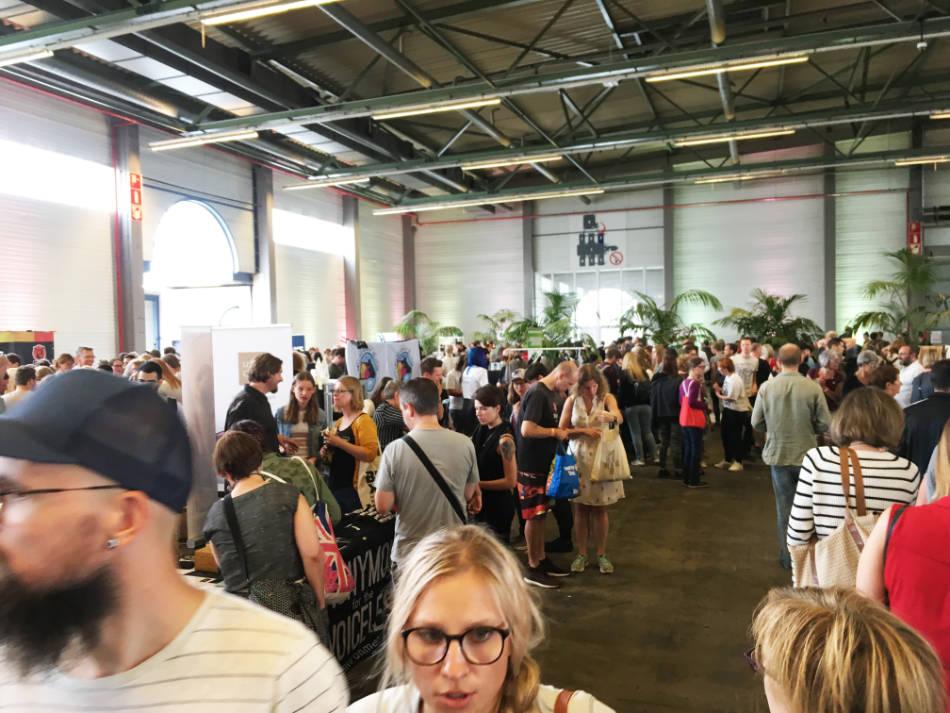 Bezoekers Vegan Summer Fest 2018