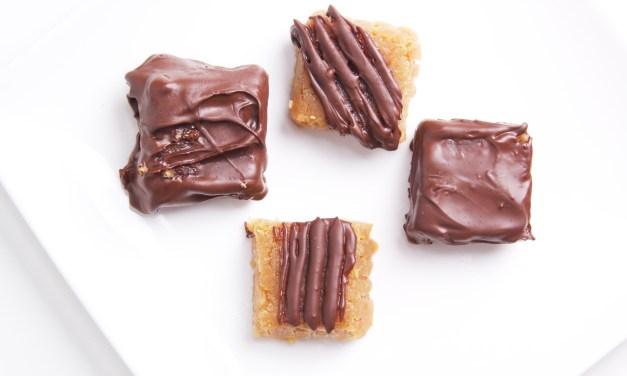 Chocolade pindasnoepjes (recept)