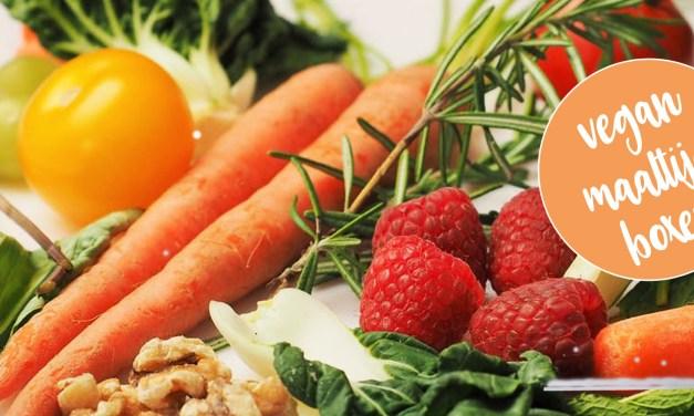 Een veganistische maaltijdbox?