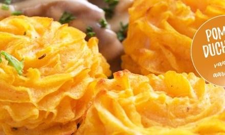 Pommes Duchesse van zoete aardappel – snel en lekker