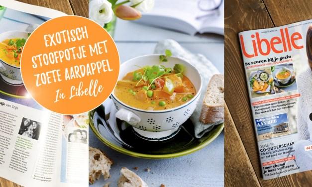 Exotisch stoofpotje met zoete aardappel – ons lievelingskostje in Libelle