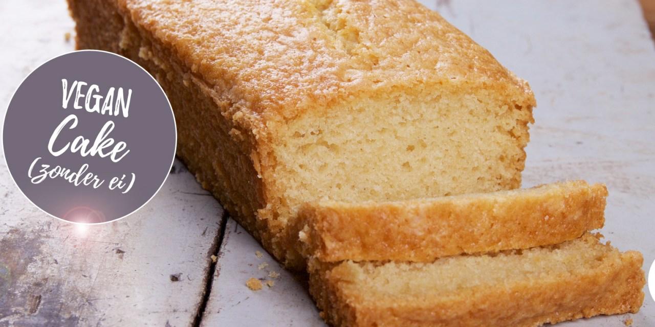 Vegan Cake (zonder ei) – het basisrecept voor een vegan vanillecake