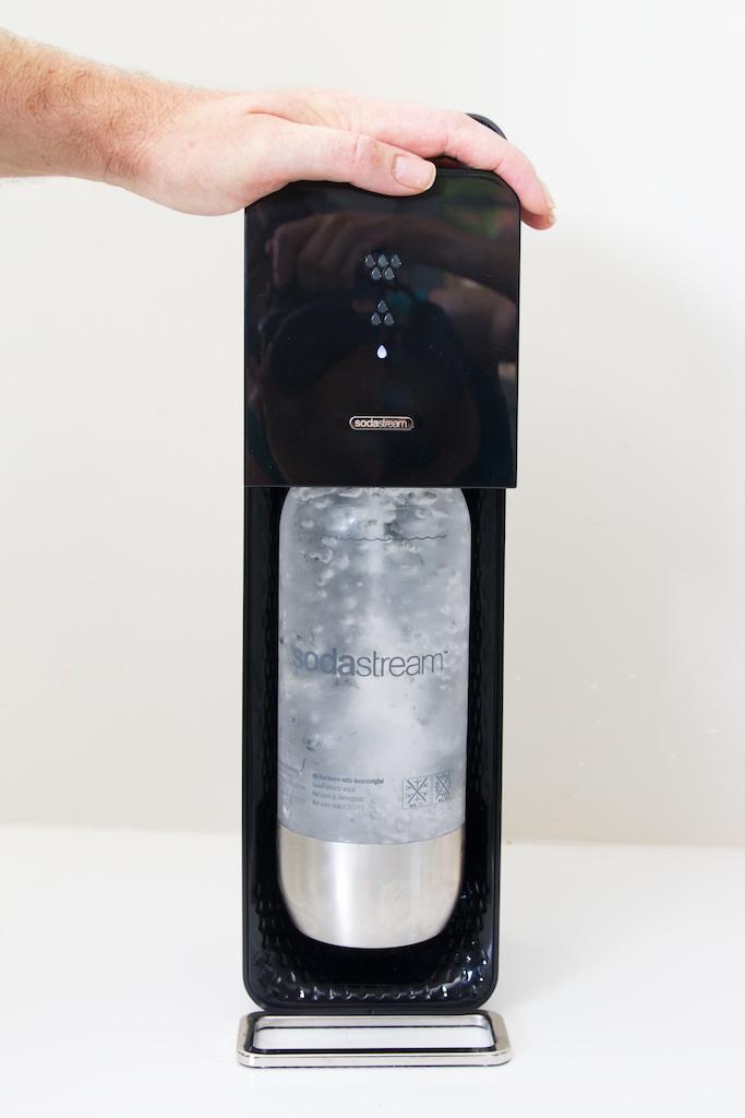 Sodastream apparaat - bruiswater maken
