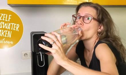 Bruiswater en frisdrank maken met de SodaStream – getest en goedgekeurd