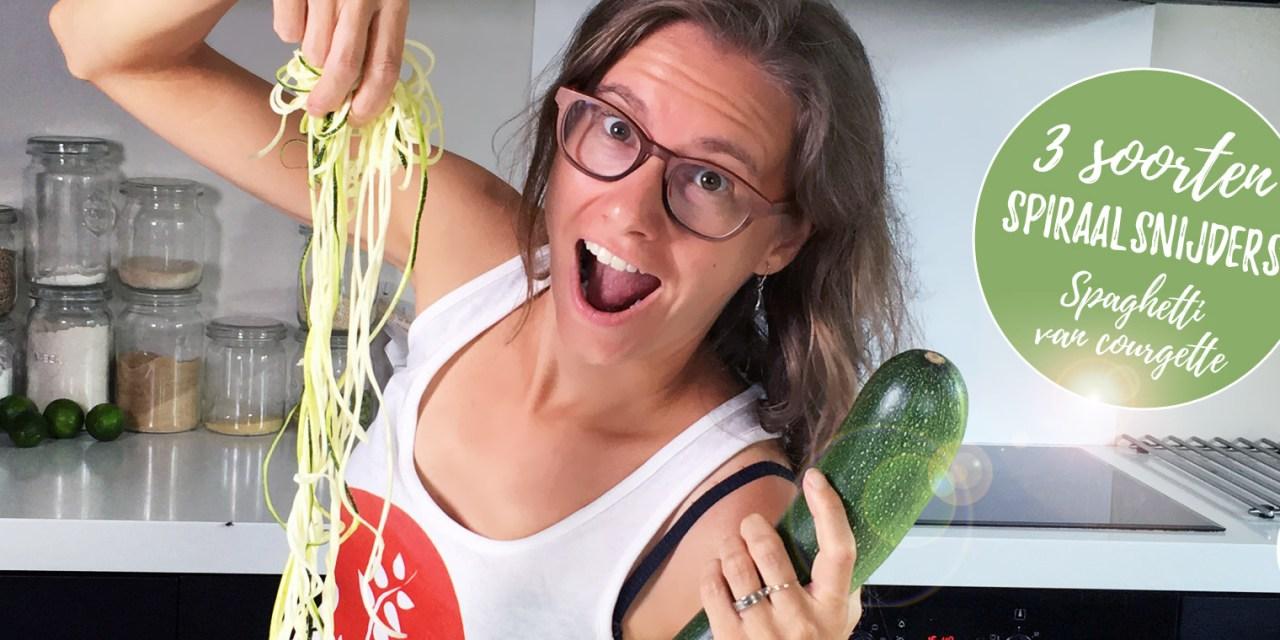 Spiraalsnijders: welke soorten zijn er en hoe maak je spaghetti van courgette?