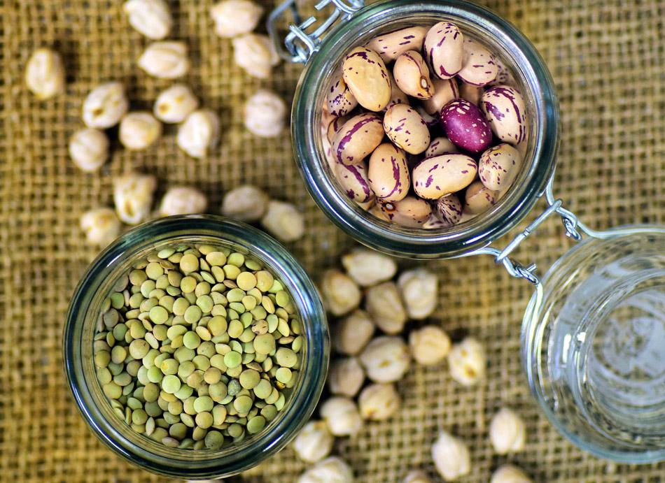 peulvruchten: linzen en bonen