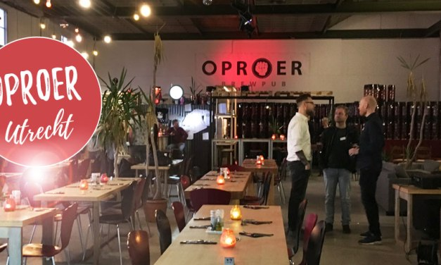 Oproer Utrecht – brouwerij en vegan restaurant