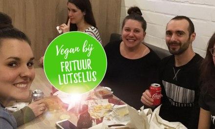 Vegan frietjes en snacks eten bij Frituur Lutselus in Diepenbeek