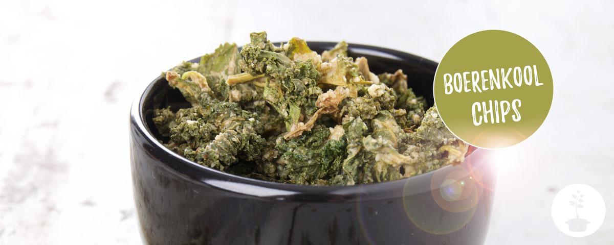 Boerenkoolchips maken – recept voor een smaakvolle, pittige gezonde snack