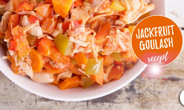 Vegan goulash met jackfruit