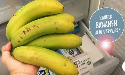Kan je bananen invriezen?