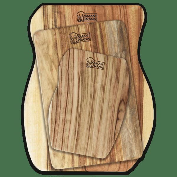 Qi-board amanprana houten snijplanken - formaten