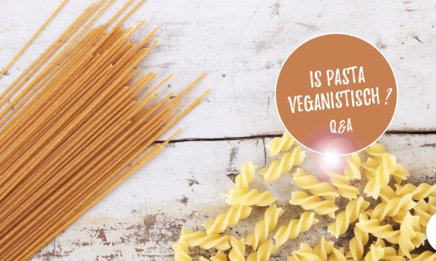 Is pasta veganistisch?