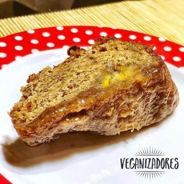 Bolo de Banana Vegano v.2 | Veganizadores