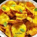 Chips Vegano de Mandioquinha (Batata Baroa) | Veganizadores