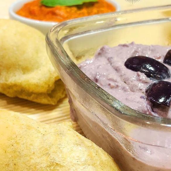 Patê de Azeitonas e Tofu Vegano - Receita Veganizadores