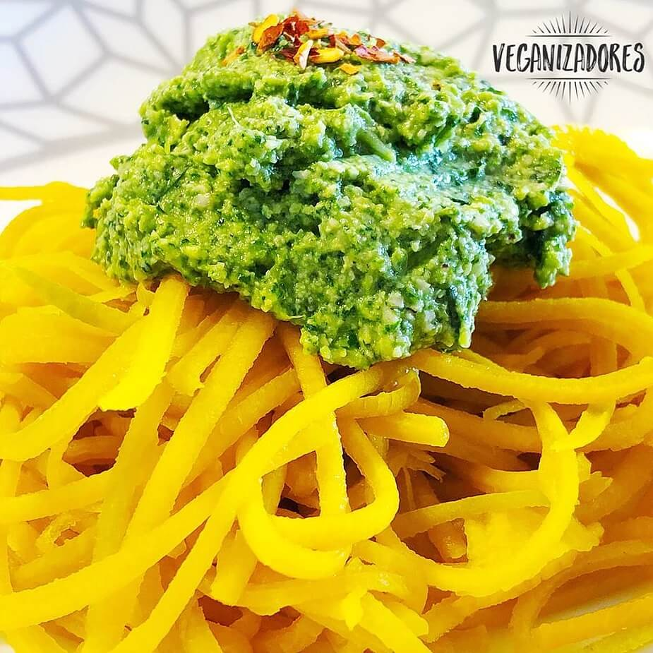 Pesto de Rúcula Vegano - Receita Veganizadores