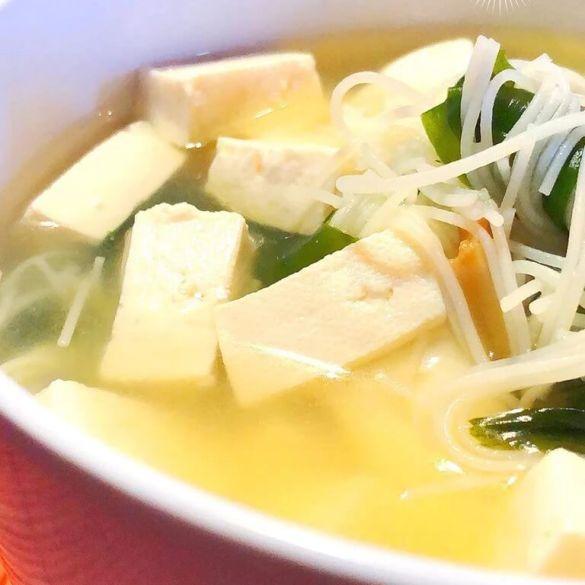 Sopa Vegana Japonesa - Receita Veganizadores
