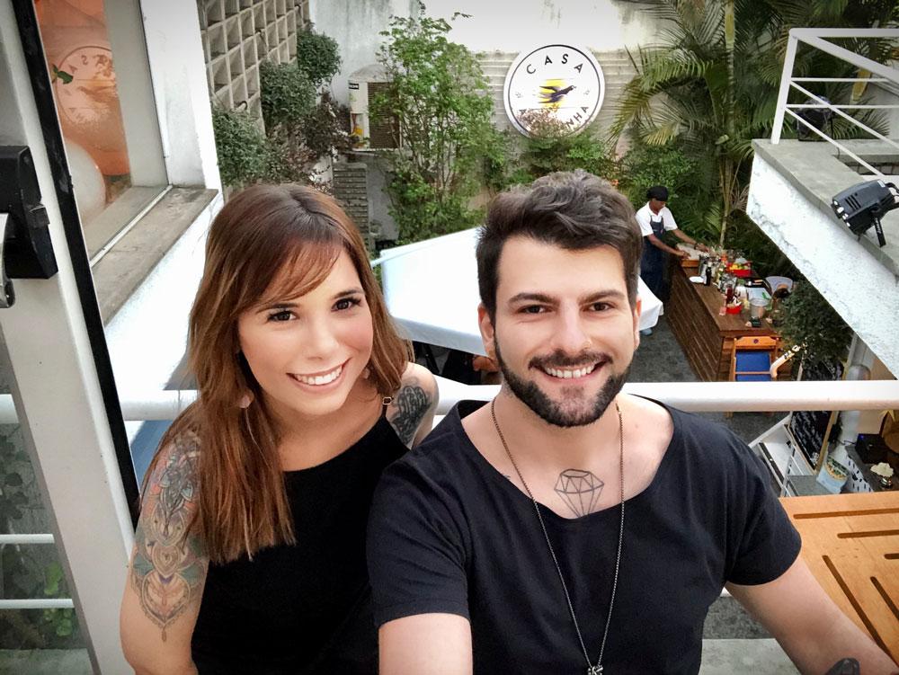Fábio Sioufi e Bianca Frenkiel - Veganizadores